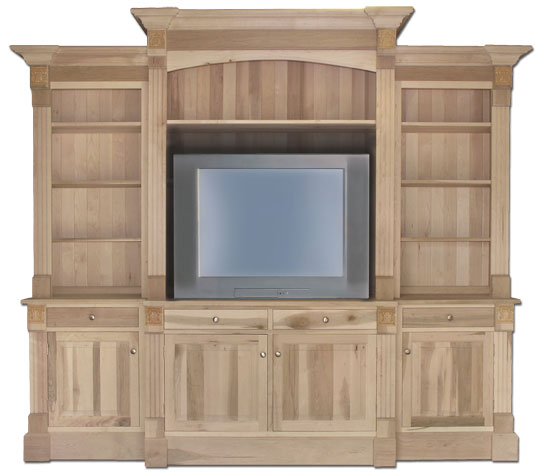 Custom sizing, configuration, wood species, and finishing available.