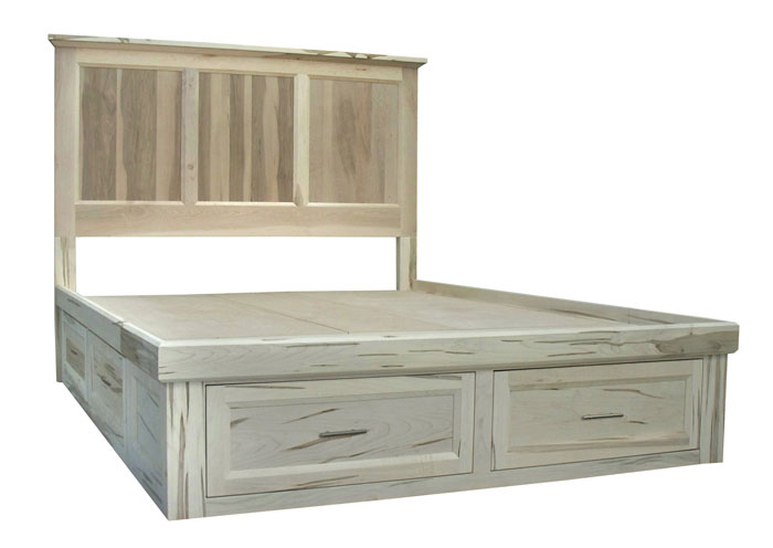 6 deep drawers, flat base, customizable