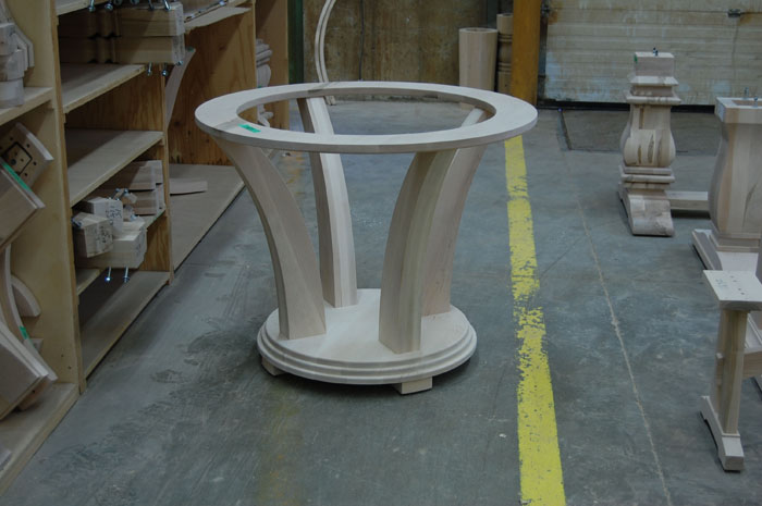 Base for Glass Top