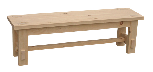 Optional woods, lengths and finishes