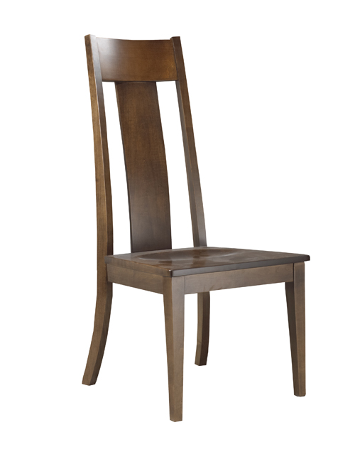 Wood or upholstered seat