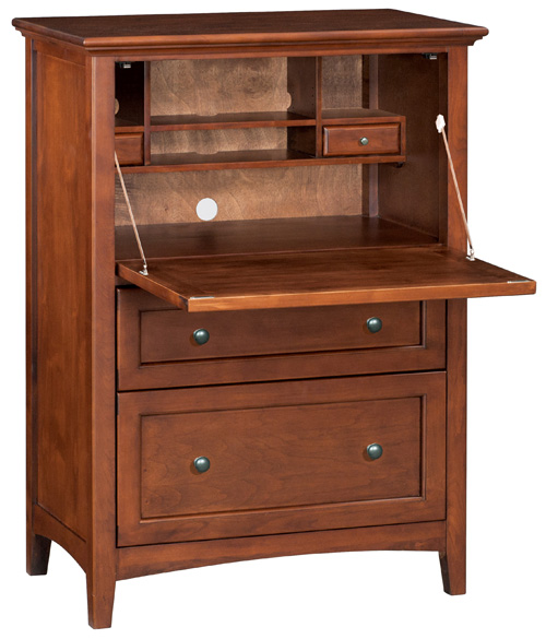 Custom sizes, configurations, wood and finishes available,Drop down table, plenty of storage, large top drawer and bottom filing drawer.