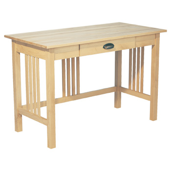 Simple Mission Style Desk, Custom sizes, configurations, wood and finishes available