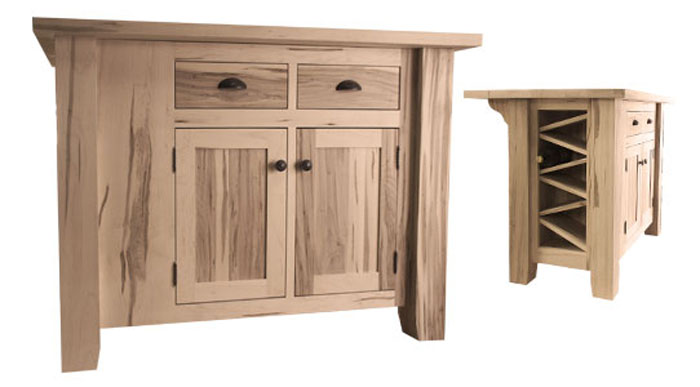 Custom sizing, woods, configurations and finishes