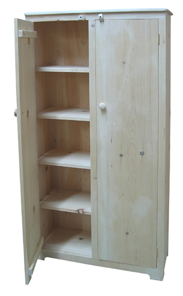 All sizes, fixed or adjustable shelves