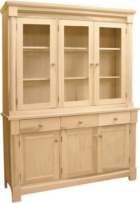 painted products circle first glass hutch with furniture cottonwood back