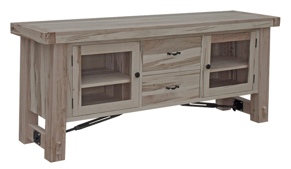 Rustic style, custom wood, configuration, sizes and colors