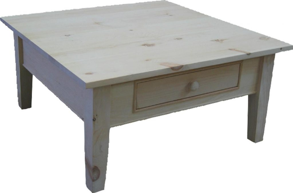 Smooth top, 1 drawer on each side. Custom sizing